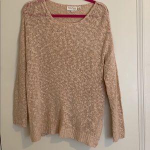 Blush light sweater